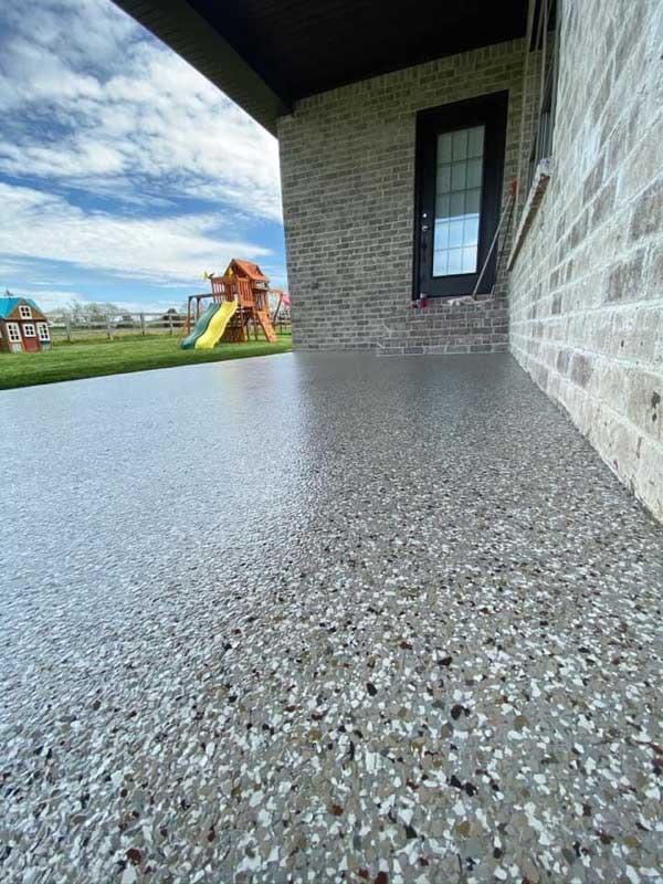 Floor coating view
